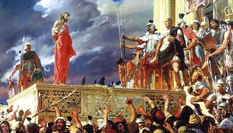 Gambar Pengadilan Yesus sumber: exitosanoticias.pe