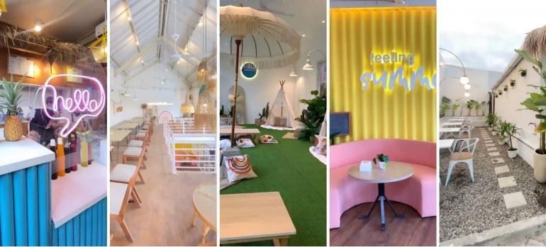 SummerZ Cafe! Tempat Nongkrong Baru dengan Konsep Unik dan Kekinian yang Instagramable - Kompasiana.com