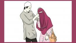 Khalifah Umar sangat memahami istri adalah wanita yang harus ia hormati dalam berumah tangga (pinterest/Syeda Kinza Kazim)