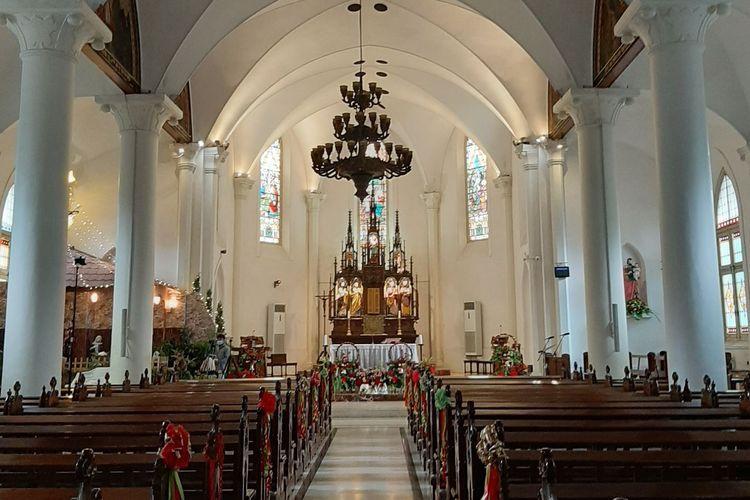 Ilustrasi Gereja (Sumber : KOMPAS.com/RISKA FARASONALIA)