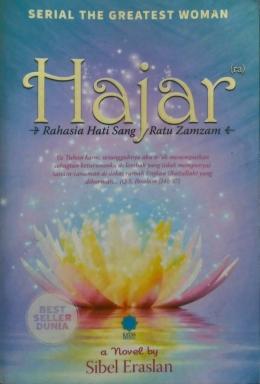 Hajar a novel by Sibel Eraslan, best seller dunia (Dokpri)