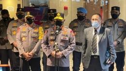 Jendral Polisi Listyo Sigit di GBI Fatmawati Bukit Sion Jakarta, Minggu (4/4/2021) foto : (Humas Polri)