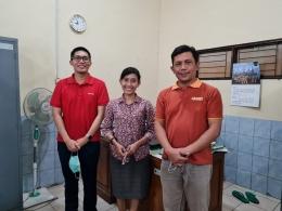 Saat penulis bertemu dengan Pak Yudi dan Mas Andika/Foto Mas Andika Dwiarta