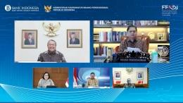 Pelaksanaan FEKDI 2021 yang digagas oleh Bank Indonesia dan Kemenkoperekonomian RI (foto: website resmi Bank Indonesia)