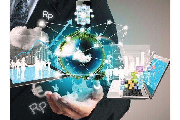 Ilustrasi digitalisasi ekonomi (foto: Sindonews)