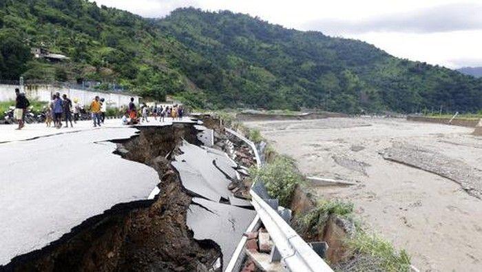 akibat badai La Nina ( detik.com )