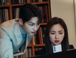 Jeon Yeo Bin semakin kompak dengan Song Joong Ki di drama Vincenzo (Instagram @tvndrama.official)