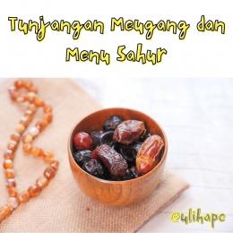 Meugang dan Menu Sahur by Ulihape