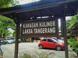 Dok.pribadi / Taman Kuliner Laksa Tangerang