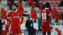 Kekecewaan Mohamed Salah usai timnya disingkirkan Real Madrid pada babak perempatfinal Liga Champions beberapa waktu lalu. (Sumber: Tempo)