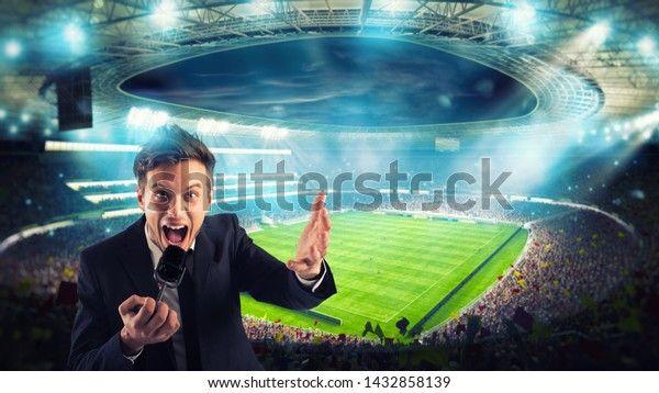 Ilustrasi komentator. Sumber foto: Shutterstock.com
