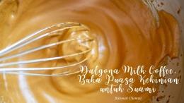 Dalgona milk coffee-dokpri