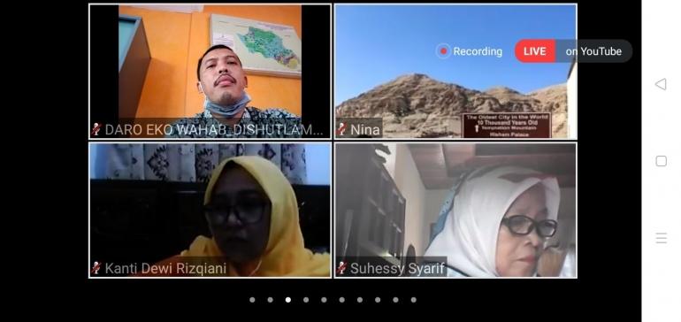 Webinar Salah Satu Bentuk Transformasi Digital (doc. Pribadi)