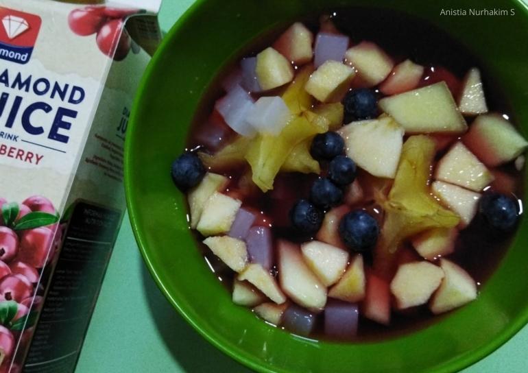Sop Buah Cranberry | Dokumentasi Pribadi