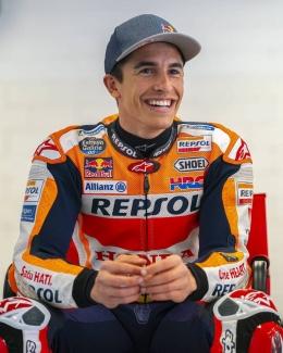 Marc Marquez kembali balapan di GP Portugal
