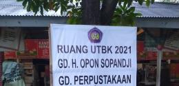 Lokasi UTBK - SBMPTN 2021, Dok. Pribadi