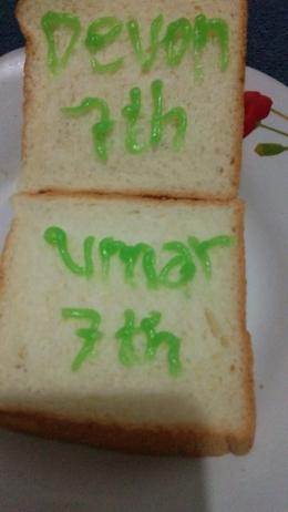 dopri/ roti untuk sahabat terbaik Umar