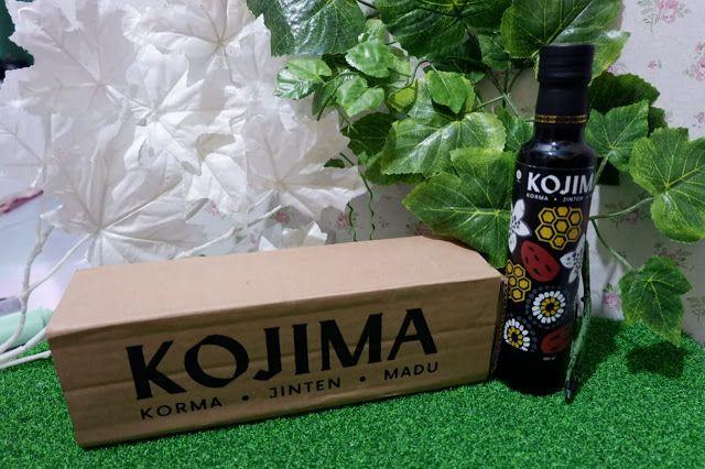 Kojima, Madu dengan tiga kebaikan, yaitu korman, jitan hitam, dan madu - www.tianlustiana.com