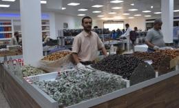 Penjual Korma di Arab Saudi. Dokpri.