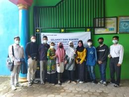 Swafoto Warga Belajar dan Tutor PKBM setelah UPK (Dokpri)