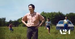 Jacob dan Monica beserta kedua anak mereka, Anne dan David. Minari mengisahkan geliat kehidupan keluarga ini/a24films.com