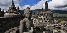 Candi Borobudur. Sumber: KOMPAS IMAGES/FIKRIA HIDAYAT
