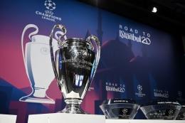 Liga Champions akan melalui perubahan format yang radikal berupa UCL Swiss Model (AFP/Fabrice Coffrini via kompas.com)