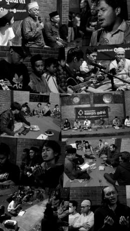Suasana rutinan Maneges Qudroh ke-122 di Panti Daruus Sundus, Borobudur, Magelang. (10/4)-dokpri