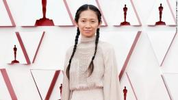 Ini dia Chloe Zhao, sutradata terbaik Oscar 2021 (sumber gambar: CNN)