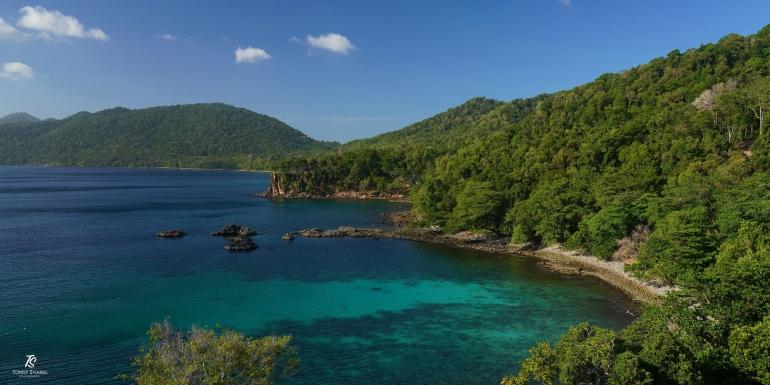 Pulau Weh yang menawan. Sumber: koleksi pribadi
