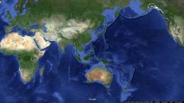 Wilayah Nusantara (Sumber: tangkapan layar Google Map)