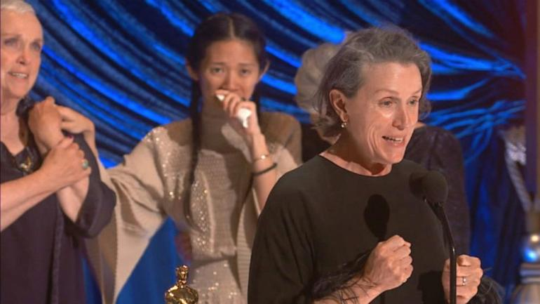 "Terharu ""Nomadland"" jadi film terbaik Oscar (sumber gambar: abcnews.go.com)"