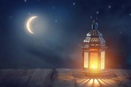 Ilustrasi malam lailatul qadar/sumber: pixabay.com