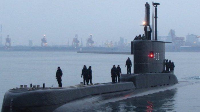 Kapal selam KRI Nanggala-402. Foto: tribunnews.com.