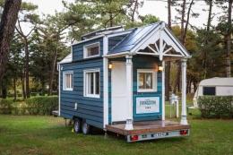 THOW (Tiny House on Wheels) - Sumber: www.livingbiginatinyhouse.com