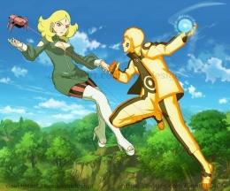 Naruto vs Delta, highlight anime Boruto episode 197 (deviantart.com)