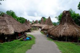 Kampung Adat Prai Ijing, Waikabubak, Sumba Barat (Dokpri)