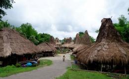 Kampung Adat Prai Ijing, Waikabubak (Dokpri)
