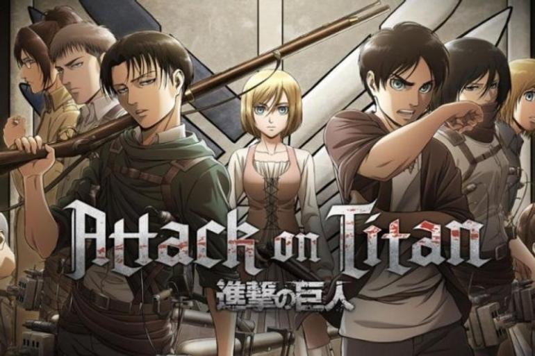 Anime Attack on Titan.   prambors fm
