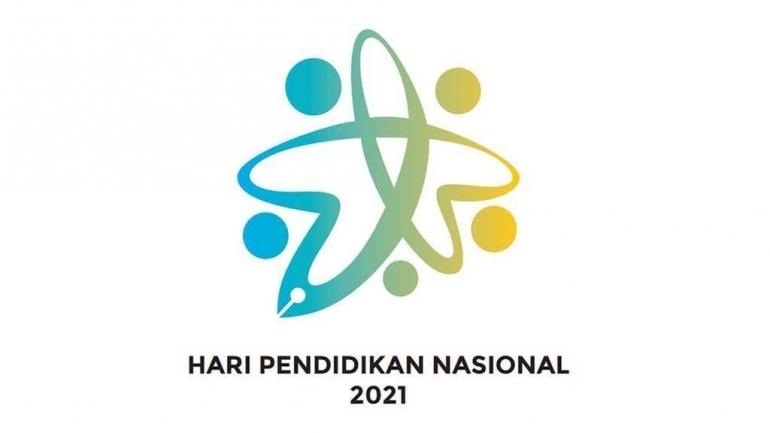 Logo Hari Pendidikan Nasional 2021 Sumber: www.kemendikbud.id