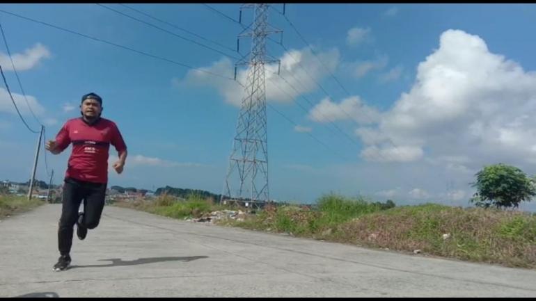 Joging, Olahraga Ringan Pilihan di Bulan Ramadan (Dokpri @AMS99)