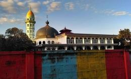 Masjid Al Amanah, Embung Papak, kota Selong. Dokpri
