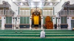 Ilustrasi memakmurkan masjid/sumber: unsplah.com