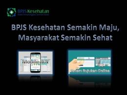 Produk Layanan Digital BPJS Kesehatan (sumber:olah powerpoint/dokpri)