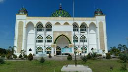 Masjid Agung Al Ikhlas Penajam Paser Utara (PPU) (Dokpri @AMS99)