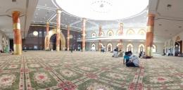 Masjid Agung Al Ikhlas Penajam Paser Utara Tampak Bagian Dalam (Dokpri @AMS99)