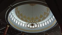 Bagian Atas atau Langi-langit Masjid Agung Al Ikhlas PPU (Dokpri @AMS99)