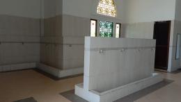 Tempat Wudu Laki-laki Masjid Agung Al Ikhlas PPU (Dokpri @AMS99)