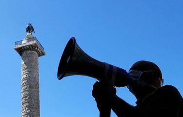 Ilustrasi Pelantang atau pengeras suara (FOTO ANTARA Via Kompas.com)
