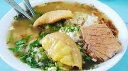ilustrasi soto daging pasar tanjung
